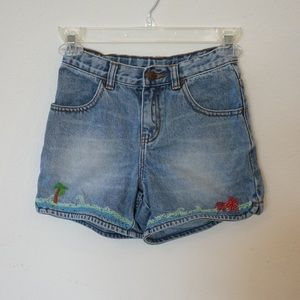 GAP Kids Embroidered Shorts